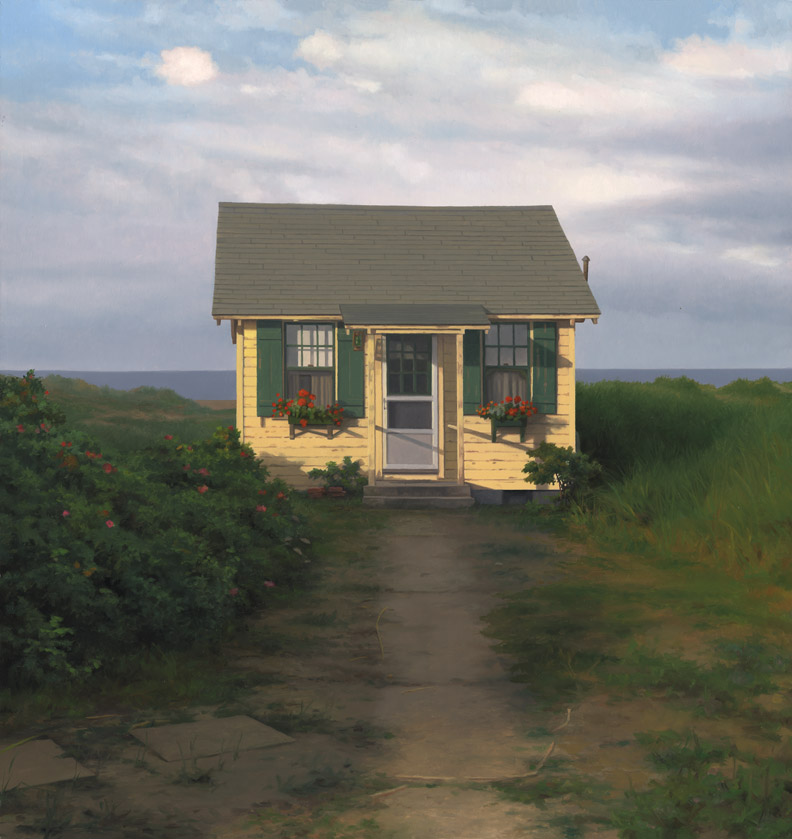 Landscapes scott prior for Cabin by the sea