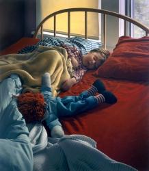 Ezra Asleep