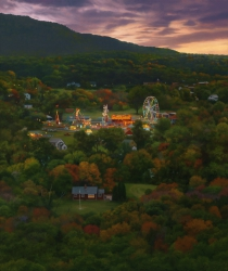 Fairgrounds at Twilight