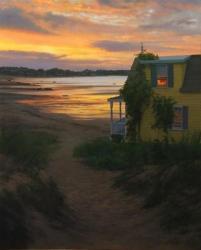 Beach House at Sunrise