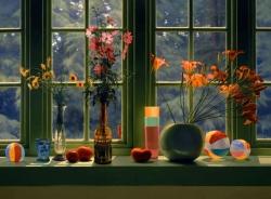 Window Still Life in Summer